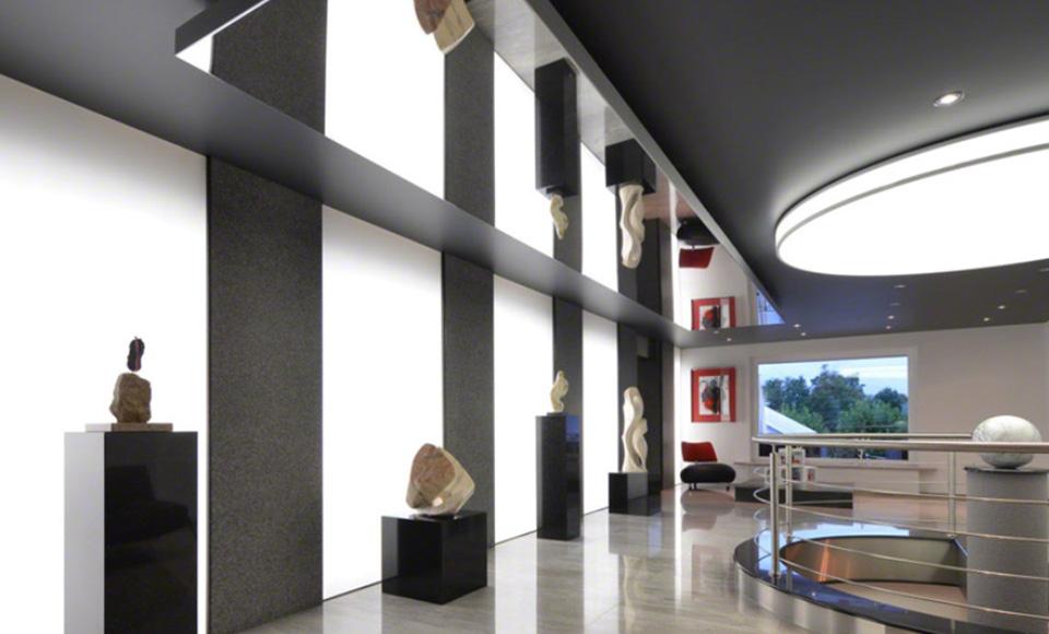 plafond cadre lumineux