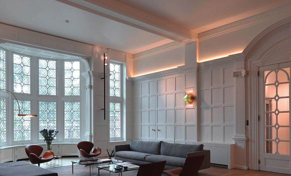 plafond diffuseur de chauffage